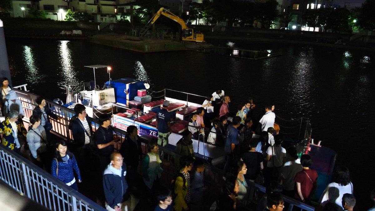 川崎工場夜景運河探検クルーズ/はとバス
