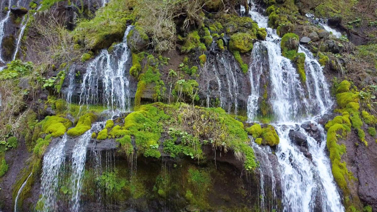 川俣川渓谷・吐竜の滝
