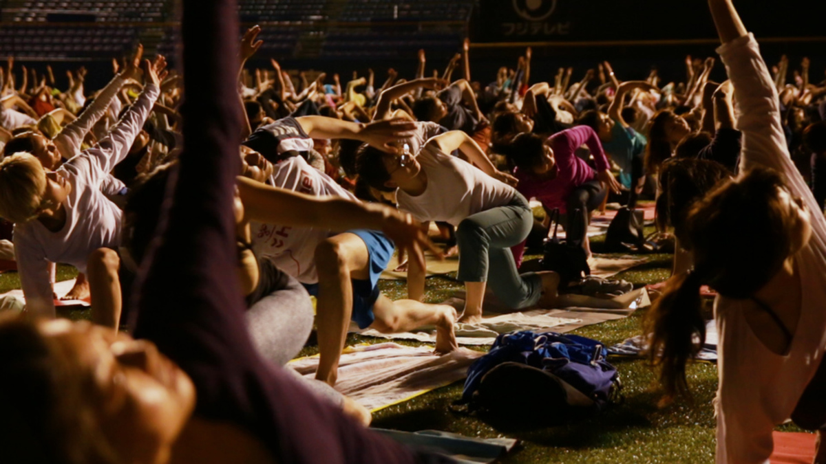 JINGU STADIUM NIGHT YOGA
