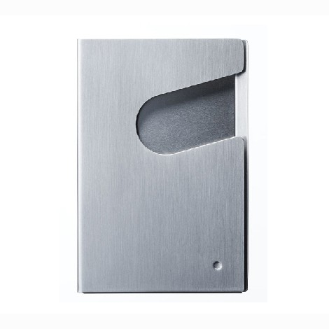 DUENDE QURLI 輕鬆轉名片盒 - 髮絲銀 | 設計 | Citiesocial