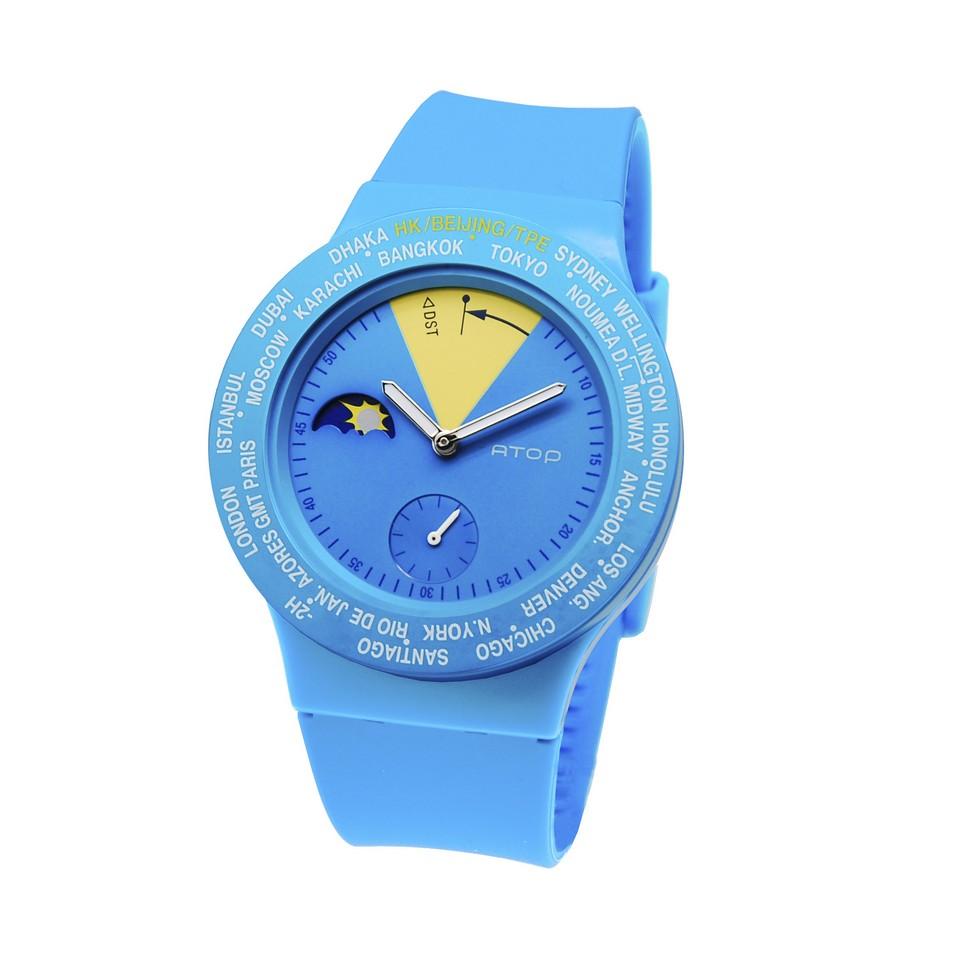 ATOP 世界時區鐘錶VWA 系列(藍黃) | 設計 | Citiesocial