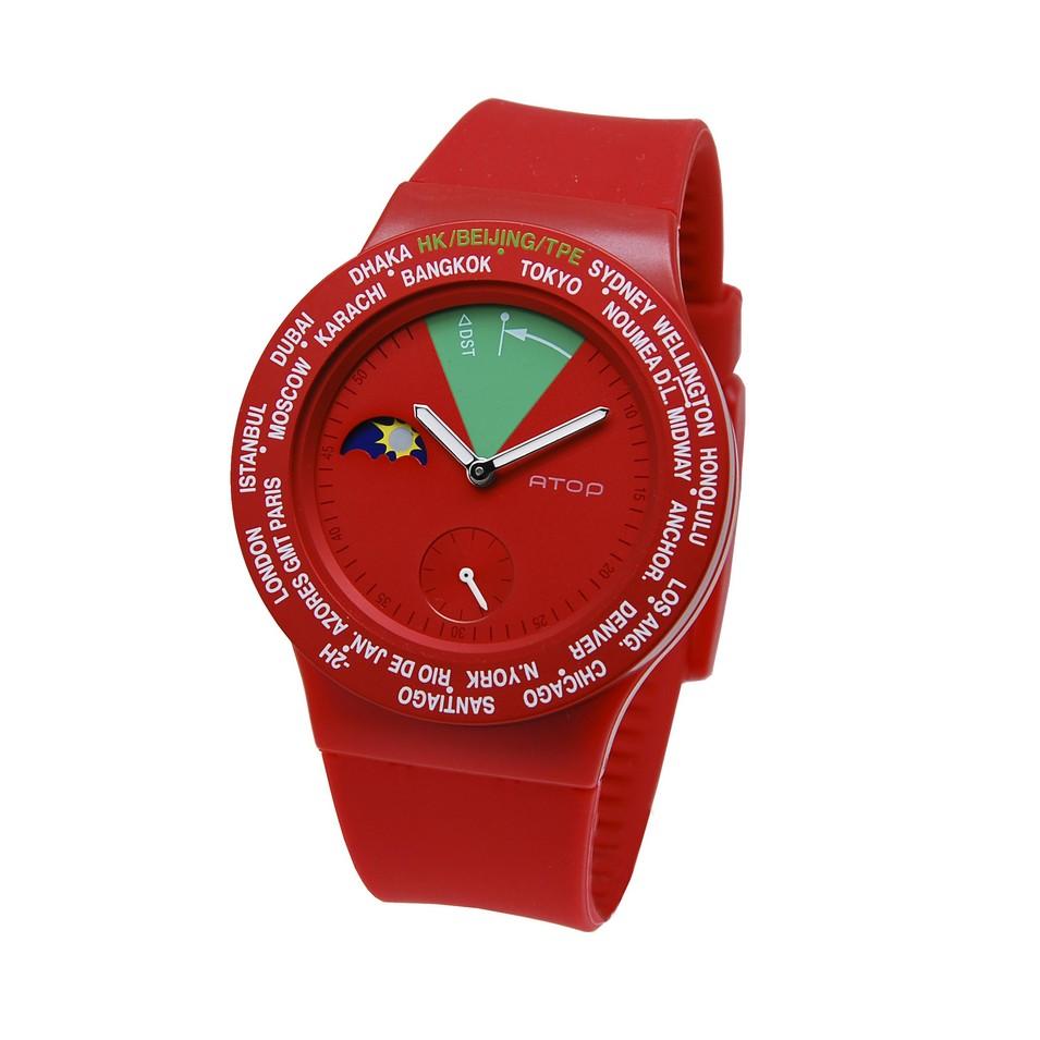 ATOP 世界時區鐘錶VWA 系列(紅綠) | 設計 | Citiesocial