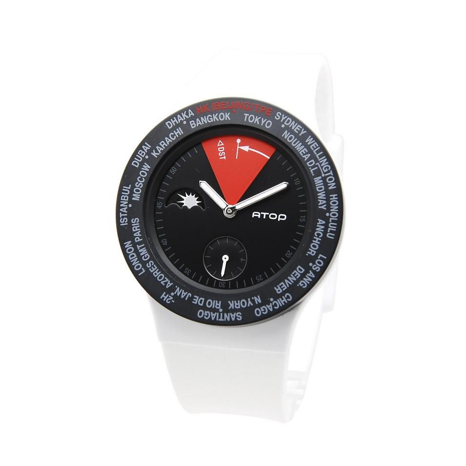 ATOP 世界時區鐘錶VWA 系列(黑紅白) | 設計 | Citiesocial