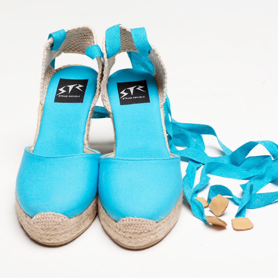 BSIDED 法國麻帆鞋 Aechibald Heel系列-light blue | 設計 | Citiesocial