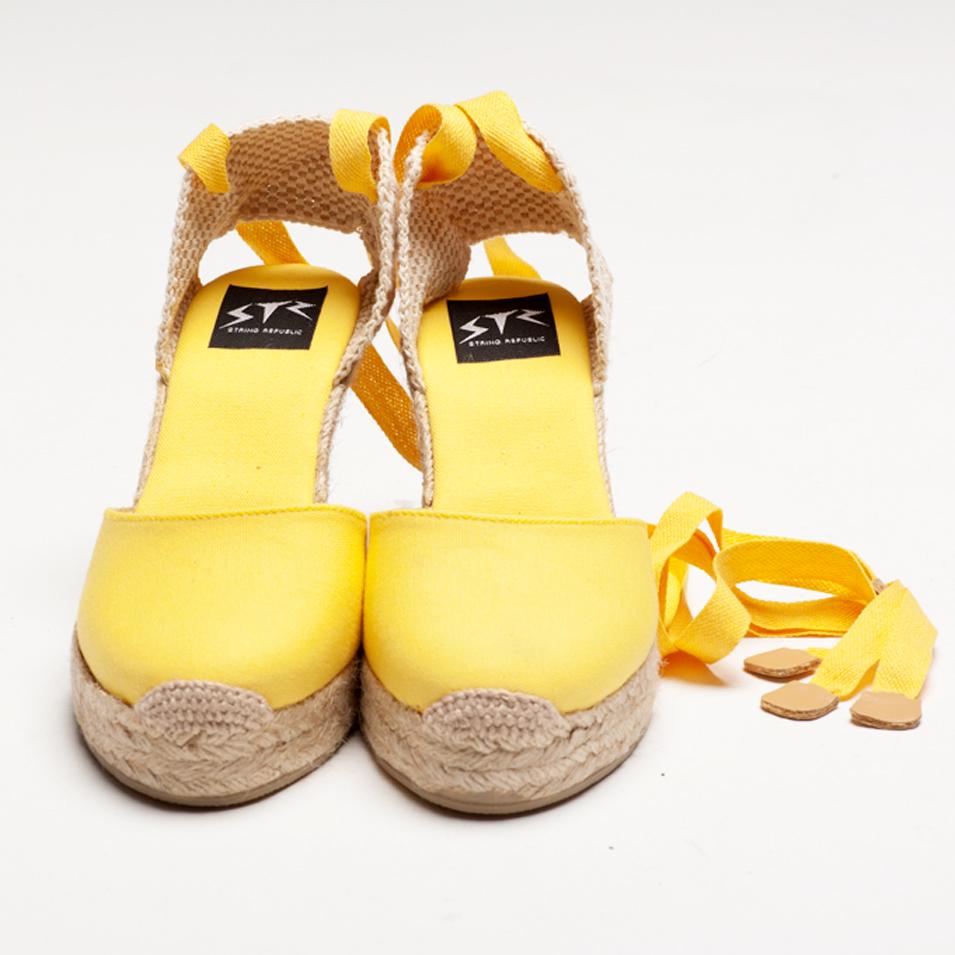 BSIDED 法國麻帆鞋 Aechibald Heel系列-yellow | 設計 | Citiesocial
