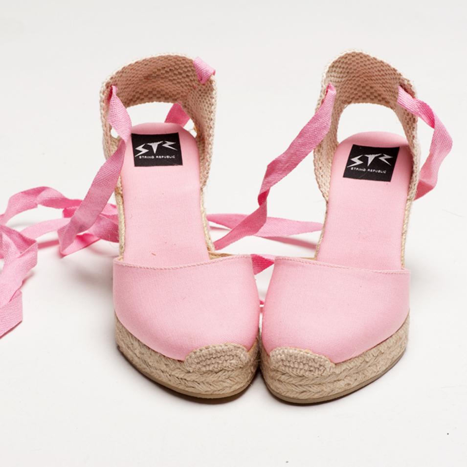 BSIDED 法國麻帆鞋 Aechibald Heel系列-pink | 設計 | Citiesocial