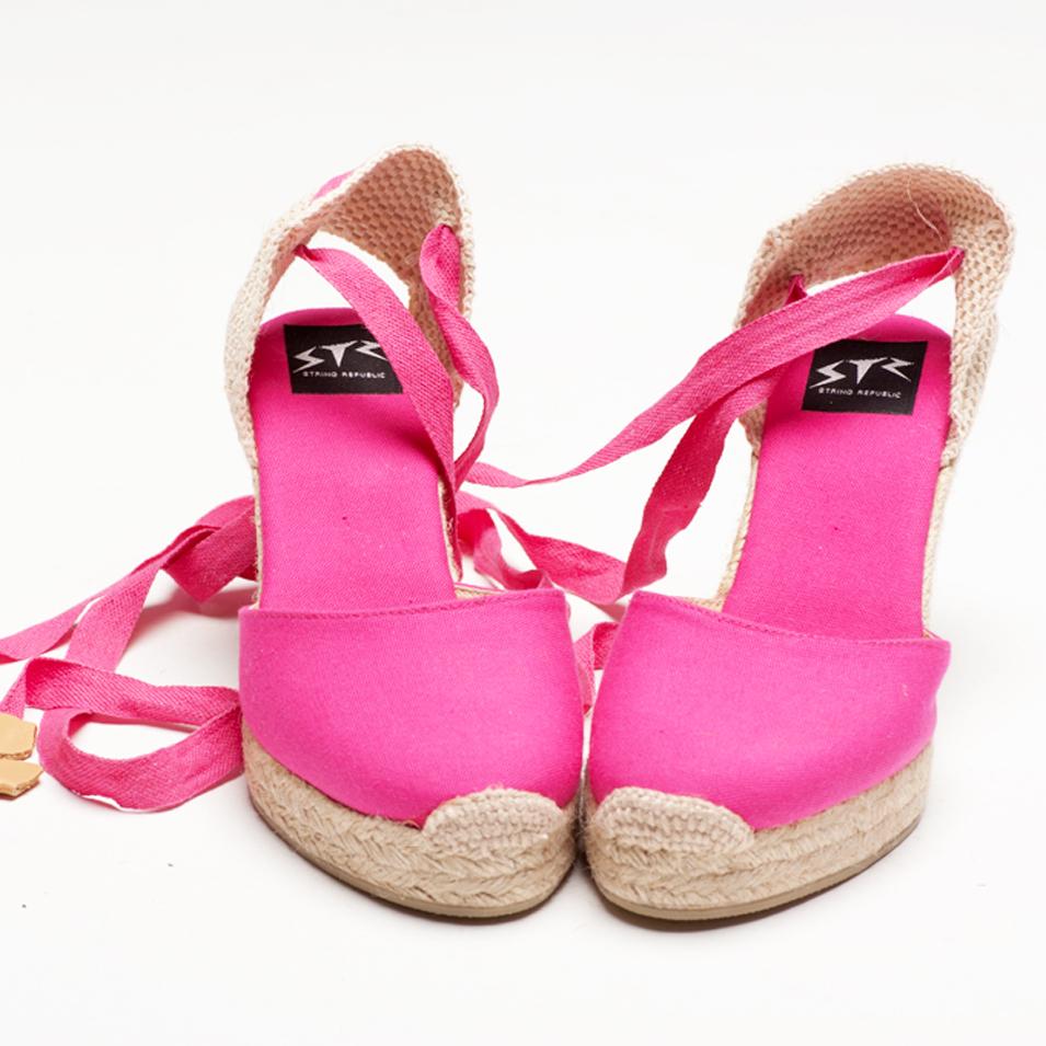 BSIDED 法國麻帆鞋 Aechibald Heel系列-fushia | 設計 | Citiesocial