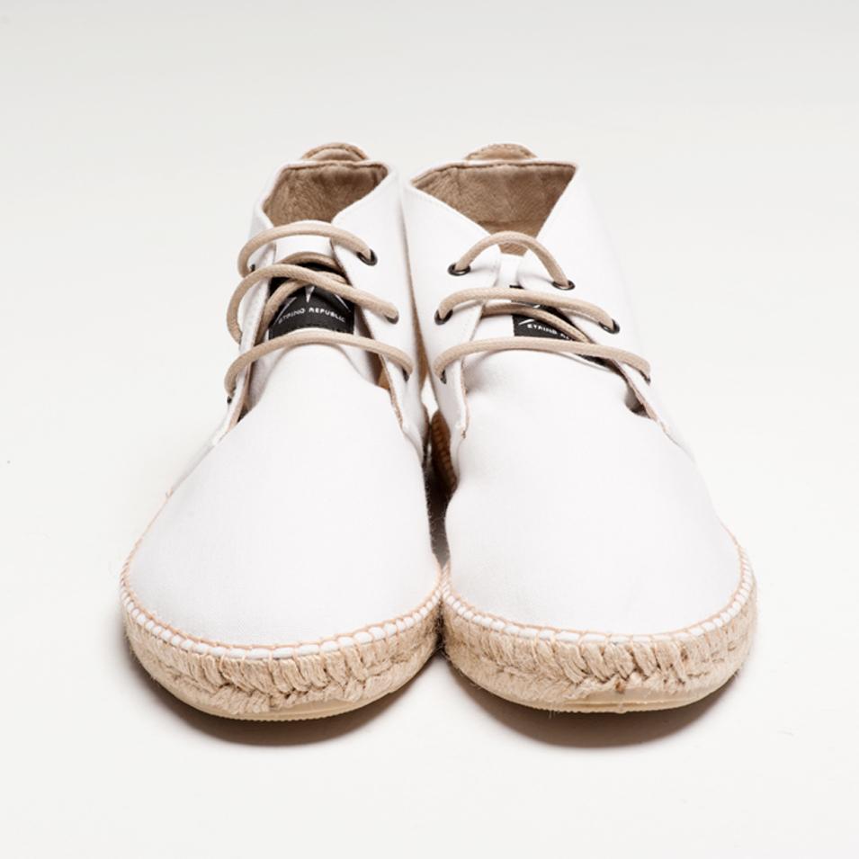 BSIDED 法國麻帆鞋 Aechibald Mid系列-white | 設計 | Citiesocial