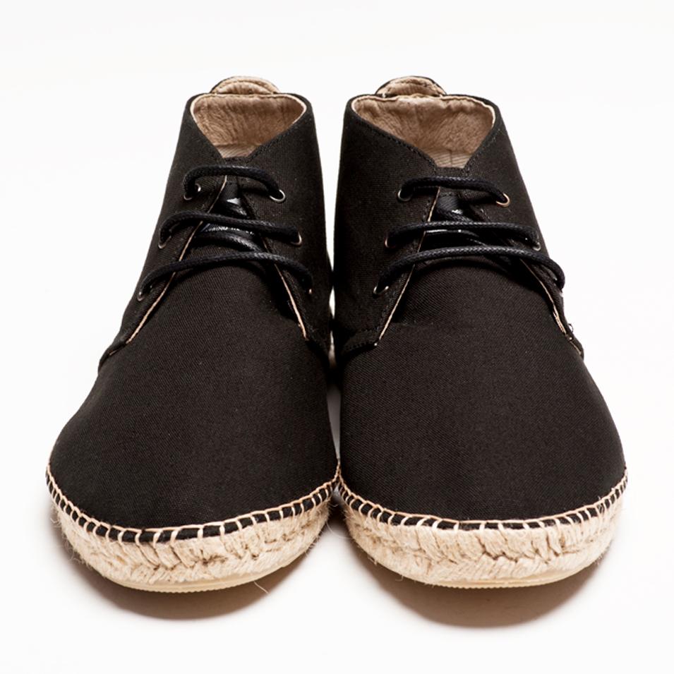 BSIDED 法國麻帆鞋 Aechibald Mid系列-black | 設計 | Citiesocial