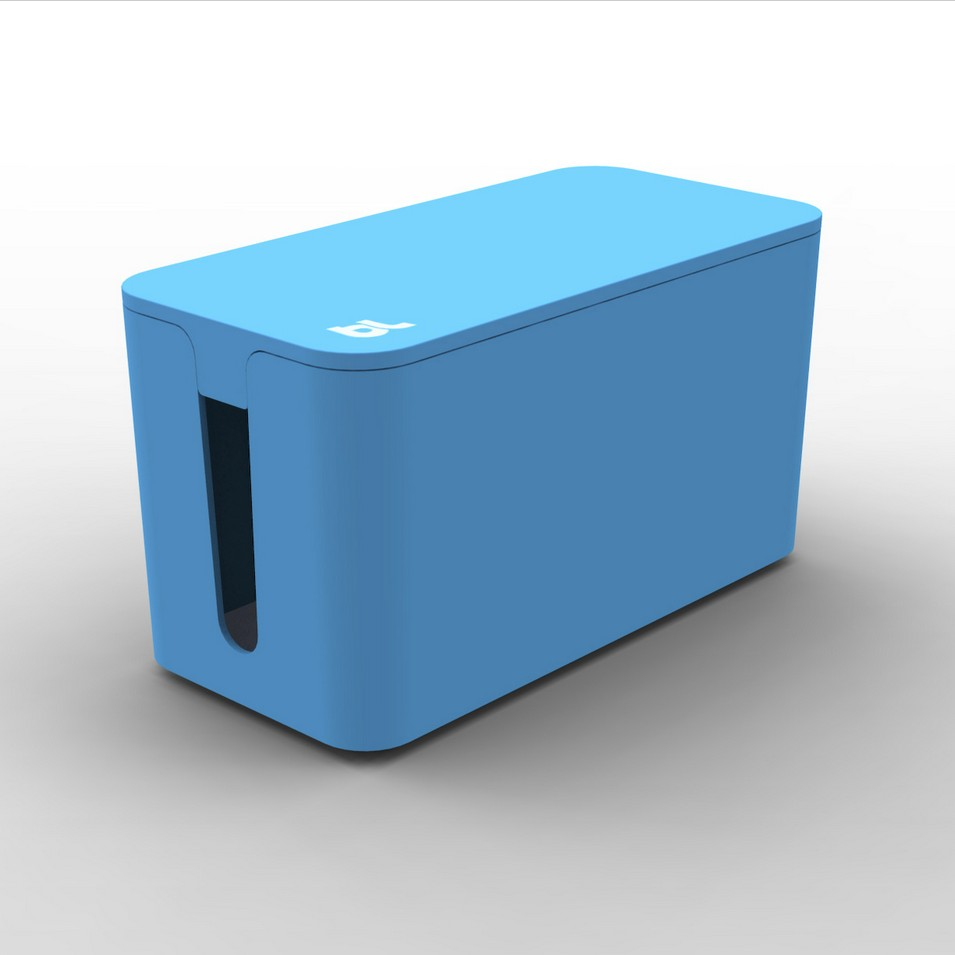 Bluelounge 3C設計 CableBox mini 電線收納盒(藍) | 設計 | Citiesocial