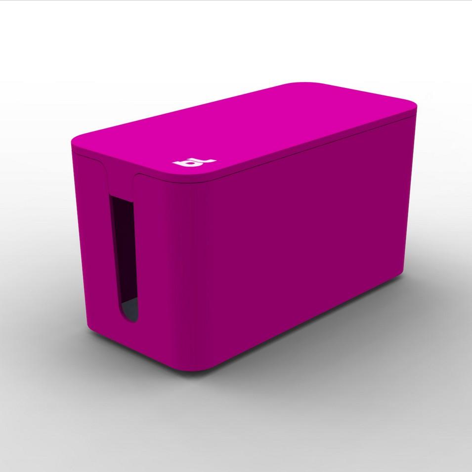 Bluelounge 3C設計 CableBox mini 電線收納盒(桃紅) | 設計 | Citiesocial