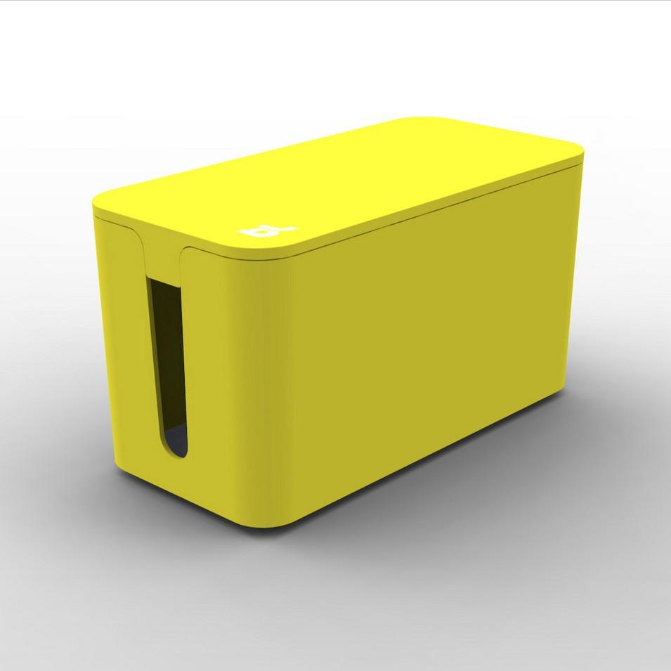 Bluelounge 3C設計 CableBox mini 電線收納盒(黃) | 設計 | Citiesocial