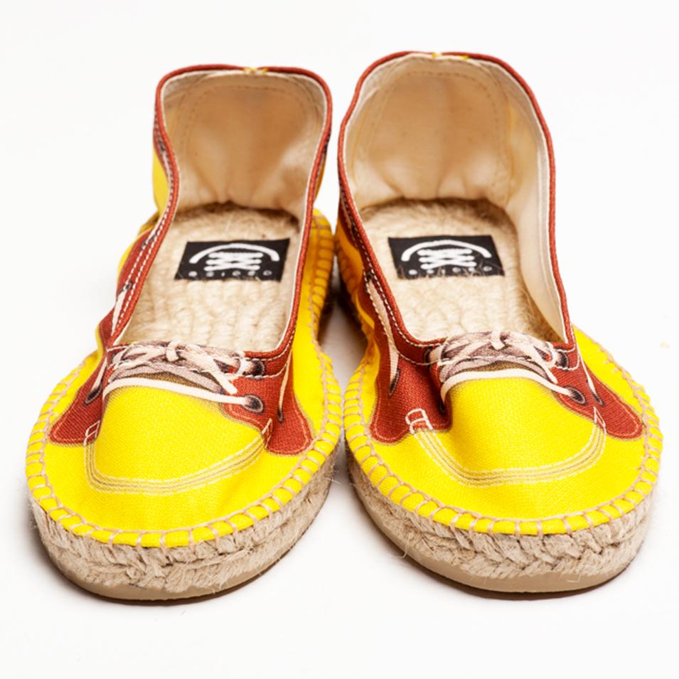 BSIDED 法國麻帆鞋 Ballet系列-yellow | 設計 | Citiesocial