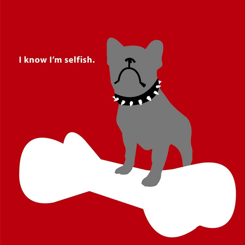 CACHE CACHE 刮刮樂創意愛情卡-我知道我很自私 | 設計 | Citiesocial
