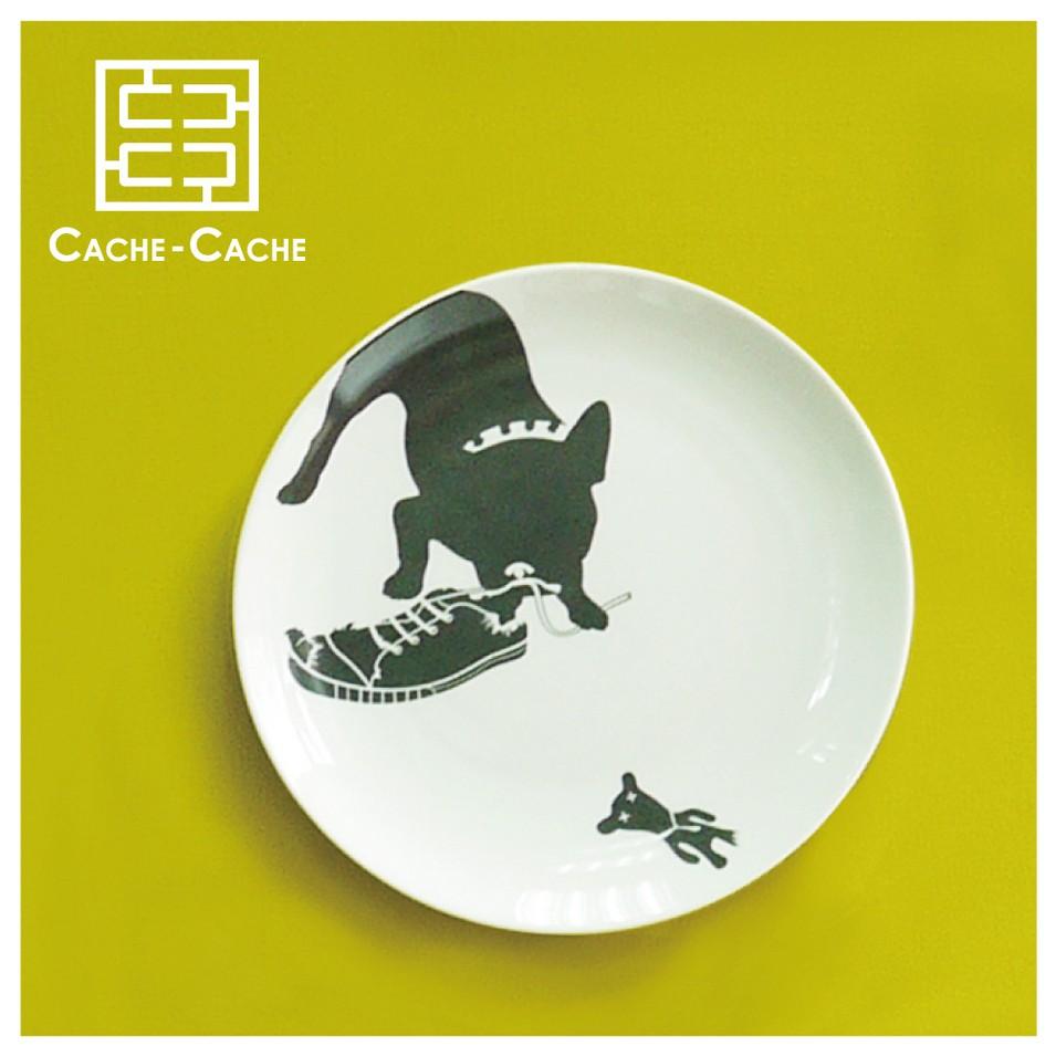 CACHE CACHE 法國鬥牛犬餐盤-調皮蛋 | 設計 | Citiesocial
