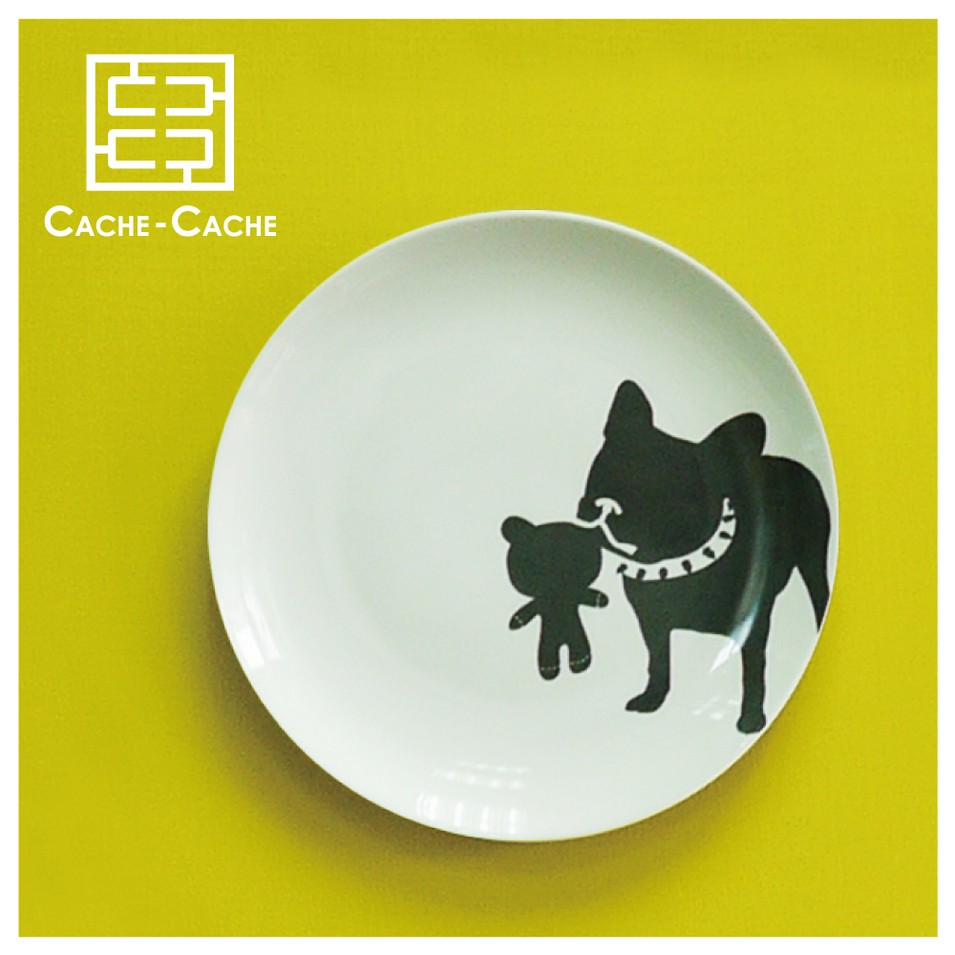 CACHE CACHE 法國鬥牛犬餐盤-撒嬌鬼 | 設計 | Citiesocial
