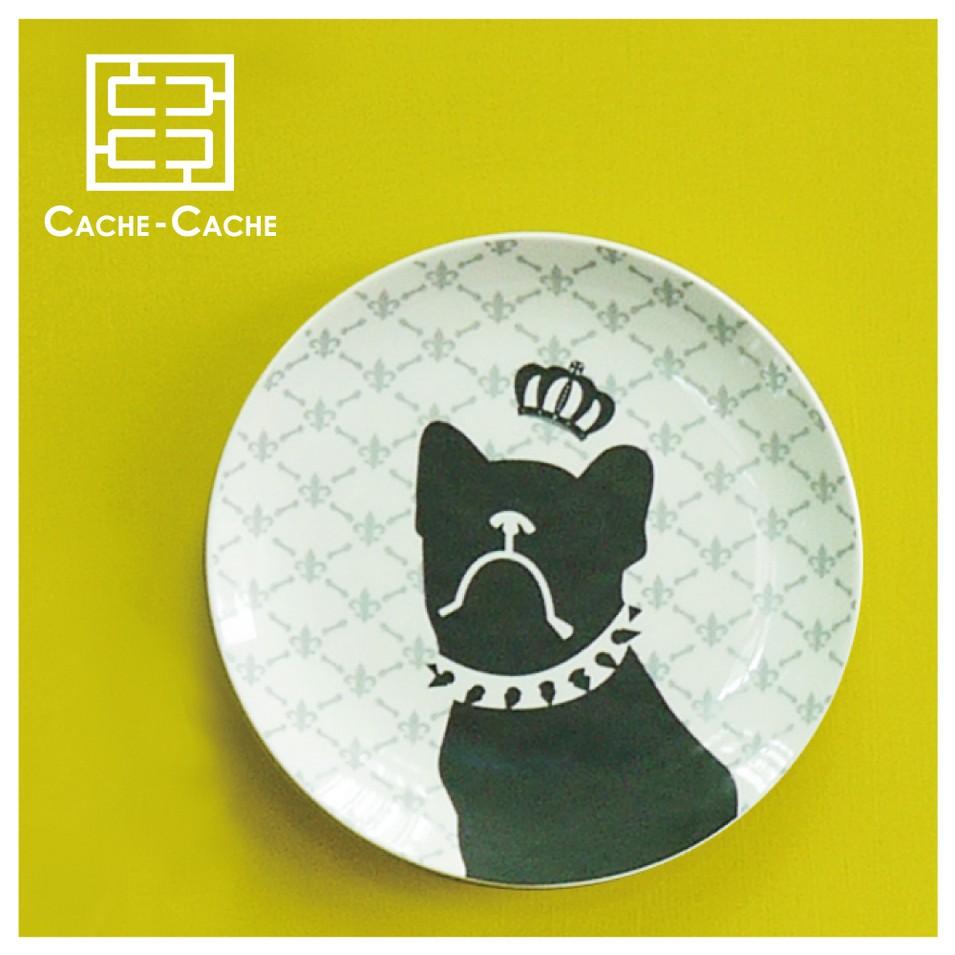 CACHE CACHE 法國鬥牛犬餐盤-王子殿下 | 設計 | Citiesocial