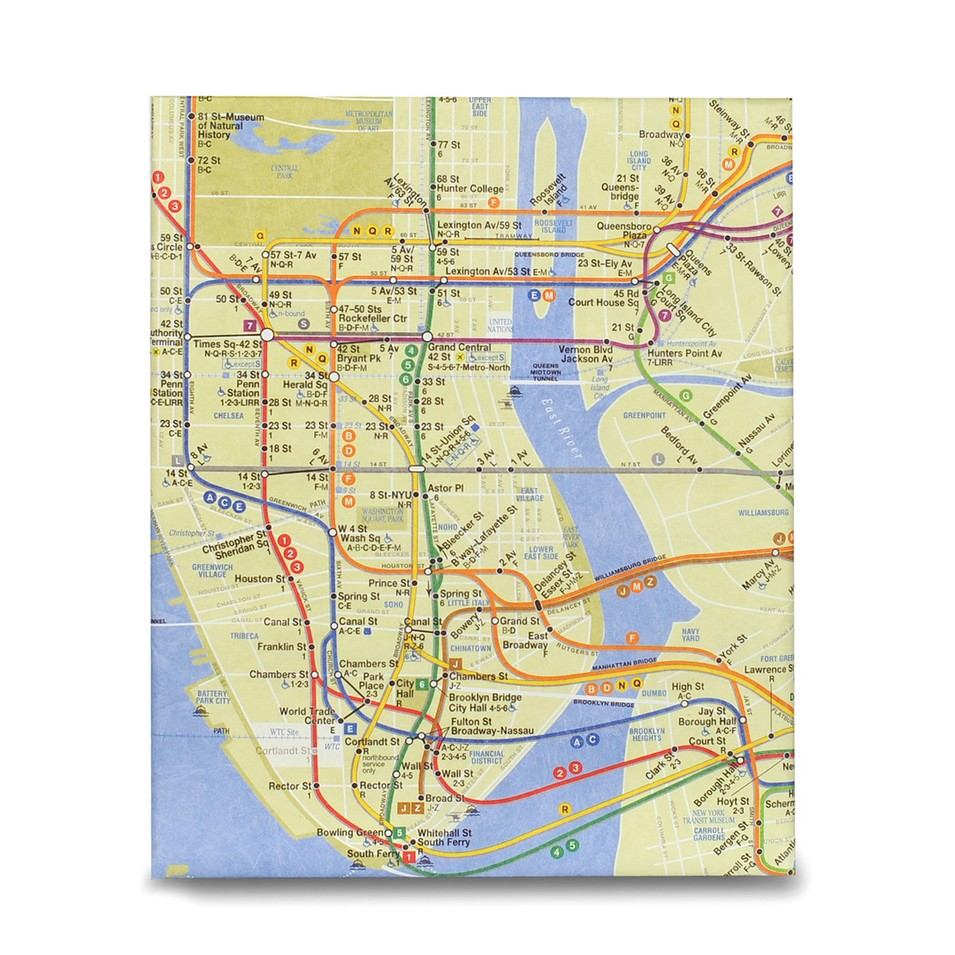 DYNOMIGHTY iPad保護套_NYC Subway Map | 設計 | Citiesocial