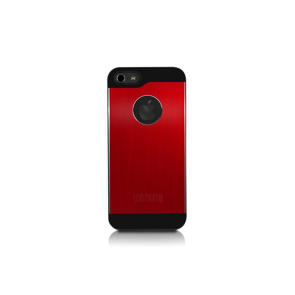 ECHO CREATIVE 時尚3C配件 calme ╳ iPhone 5(紅色)   設計   Citiesocial