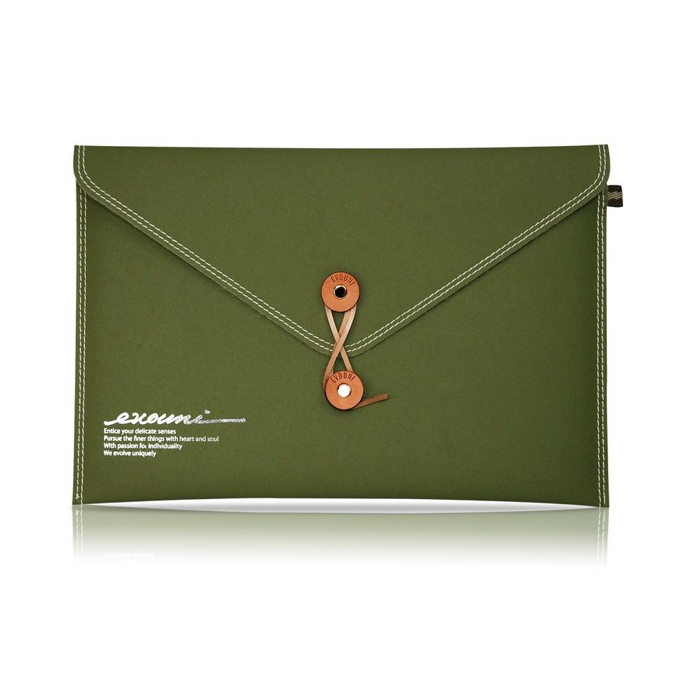 Evouni 時尚3C配件 纖_信封式護套_15吋橄欖綠 | 設計 | Citiesocial