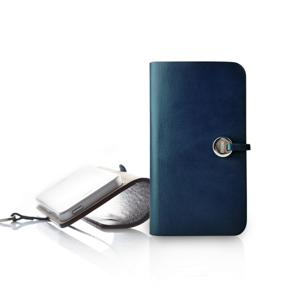 Evouni 時尚3C配件 弧_真皮護套_iPhone5-藍 | 設計 | Citiesocial