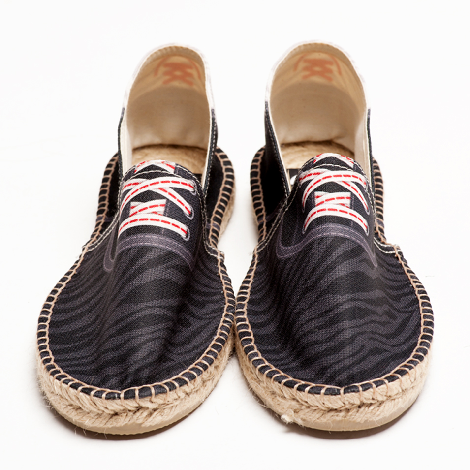 BSIDED 法國麻帆鞋 Flat Sole系列-Groover Safari Black | 設計 | Citiesocial