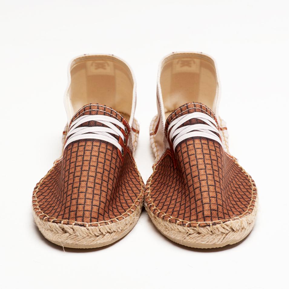 BSIDED 法國麻帆鞋 Flat Sole系列-BSD gump dot beige | 設計 | Citiesocial