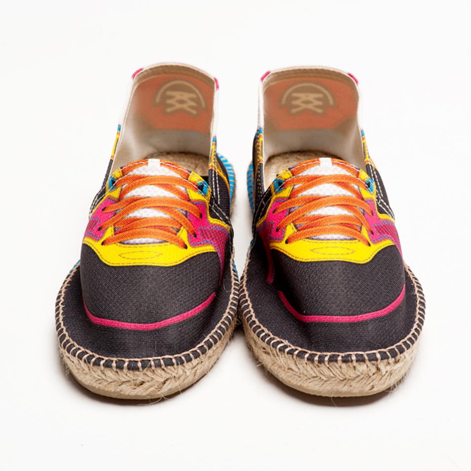 BSIDED 法國麻帆鞋 Flat Sole系列-BSD black&yellow | 設計 | Citiesocial