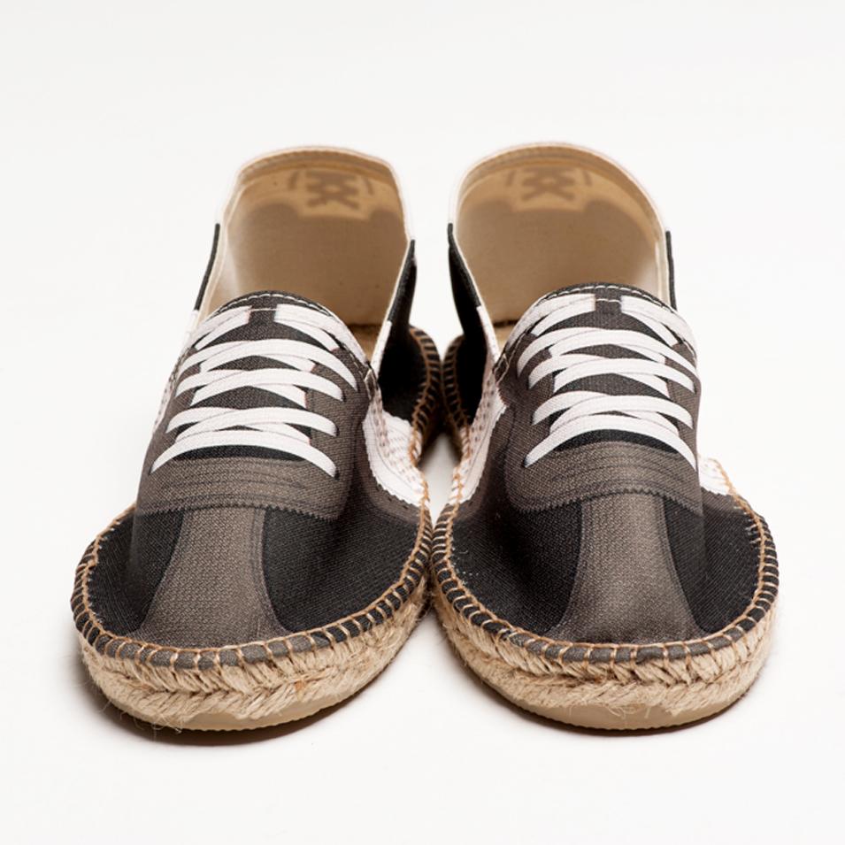 BSIDED 法國麻帆鞋 Flat Sole系列-milky black | 設計 | Citiesocial