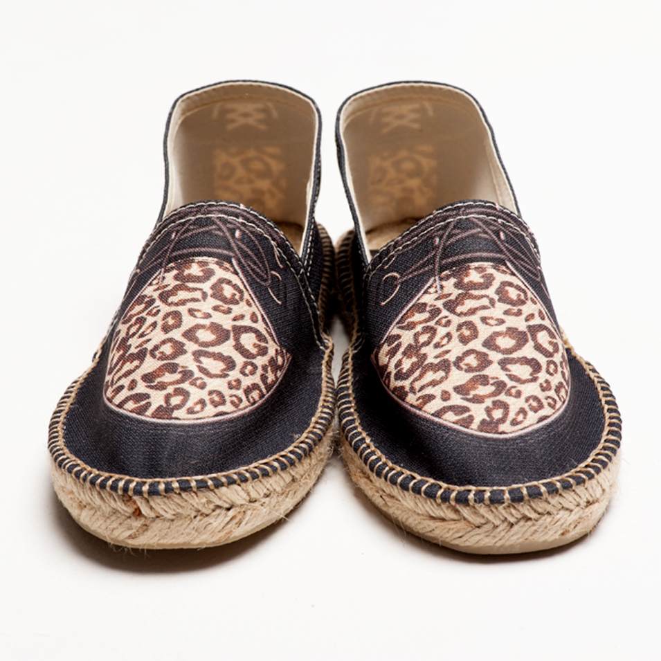 BSIDED 法國麻帆鞋 Flat Sole系列-suede leopard | 設計 | Citiesocial