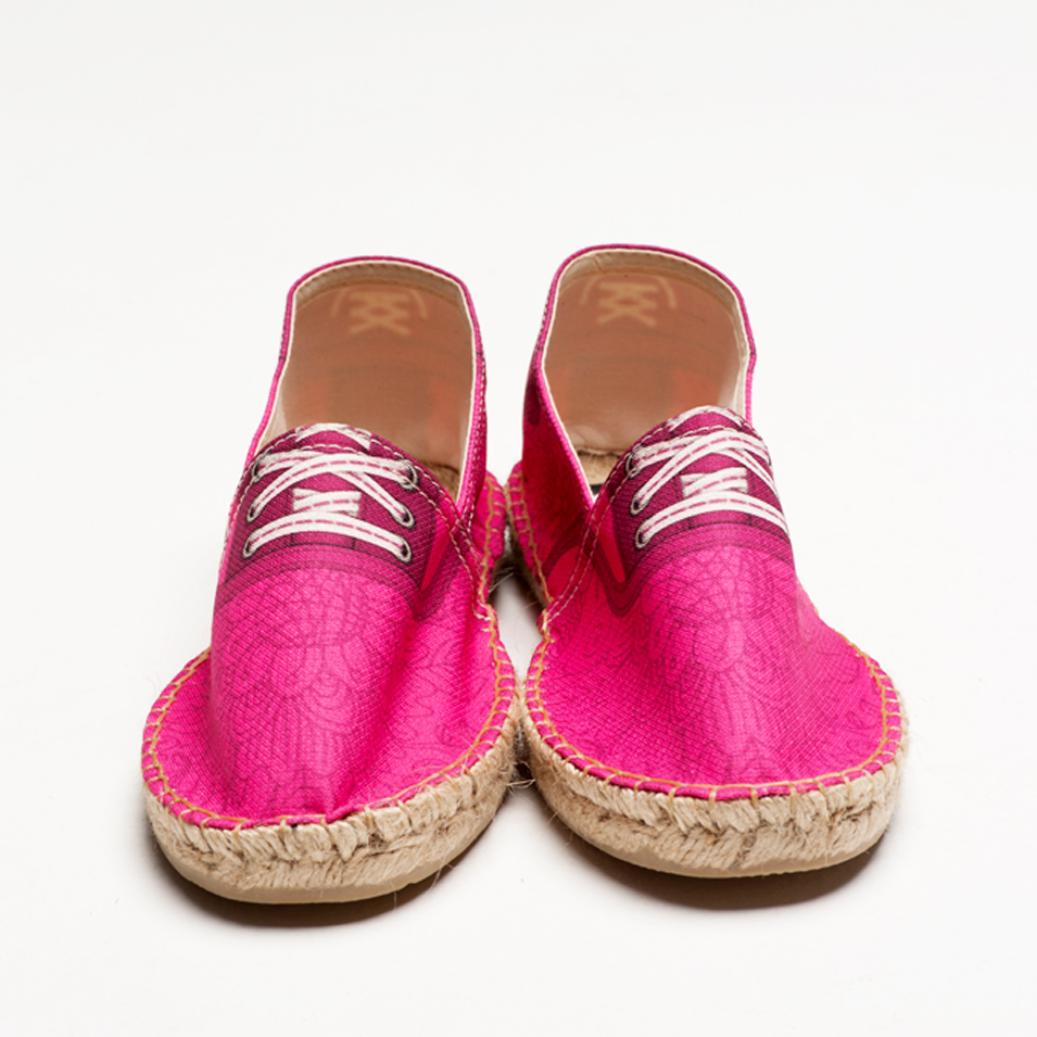 BSIDED 法國麻帆鞋 Flat Sole系列-groover daisy pink | 設計 | Citiesocial