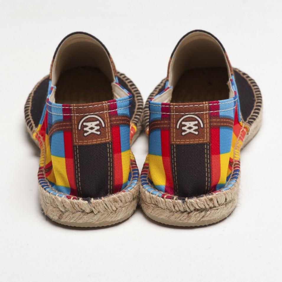 BSIDED 法國麻帆鞋 Flat Sole系列-gump blue | 設計 | Citiesocial
