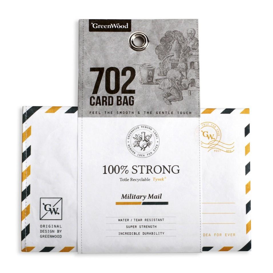GreenWood Card Bag 摺疊購物袋(黃綠款) | 設計 | Citiesocial