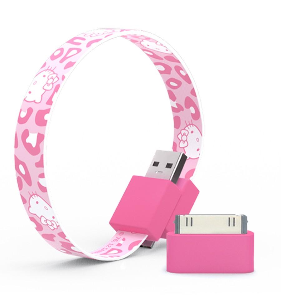 Mohzy 時尚3C設計 環型USB傳輸線-Kitty粉紅 | 設計 | Citiesocial