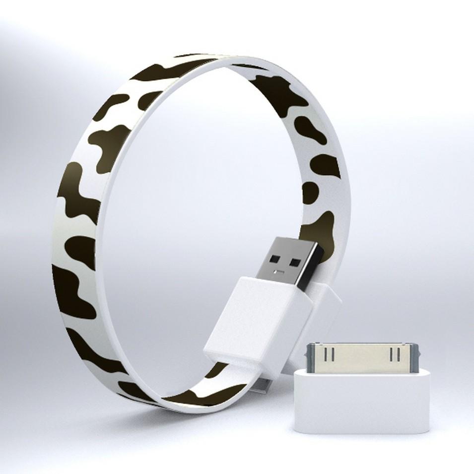 Mohzy 時尚3C設計 繽紛環型USB傳輸線-乳牛 | 設計 | Citiesocial