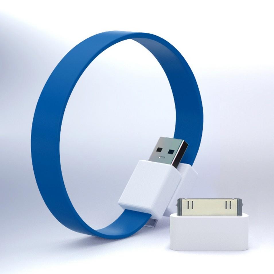 Mohzy 時尚3C設計 繽紛環型USB傳輸線-藍 | 設計 | Citiesocial