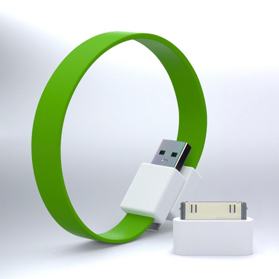 Mohzy 時尚3C設計 繽紛環型USB傳輸線-綠 | 設計 | Citiesocial