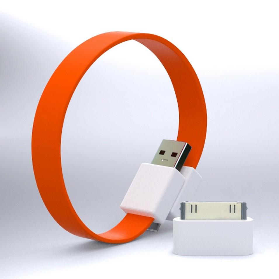 Mohzy 時尚3C設計 繽紛環型USB傳輸線-橘 | 設計 | Citiesocial