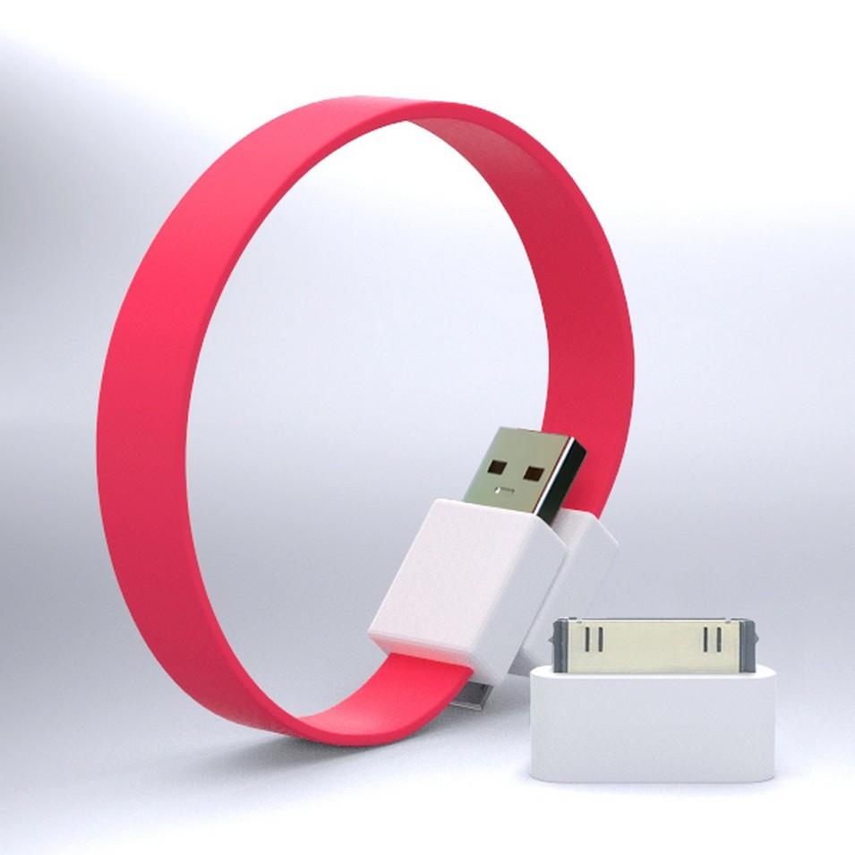 Mohzy 時尚3C設計 繽紛環型USB傳輸線-粉紅 | 設計 | Citiesocial
