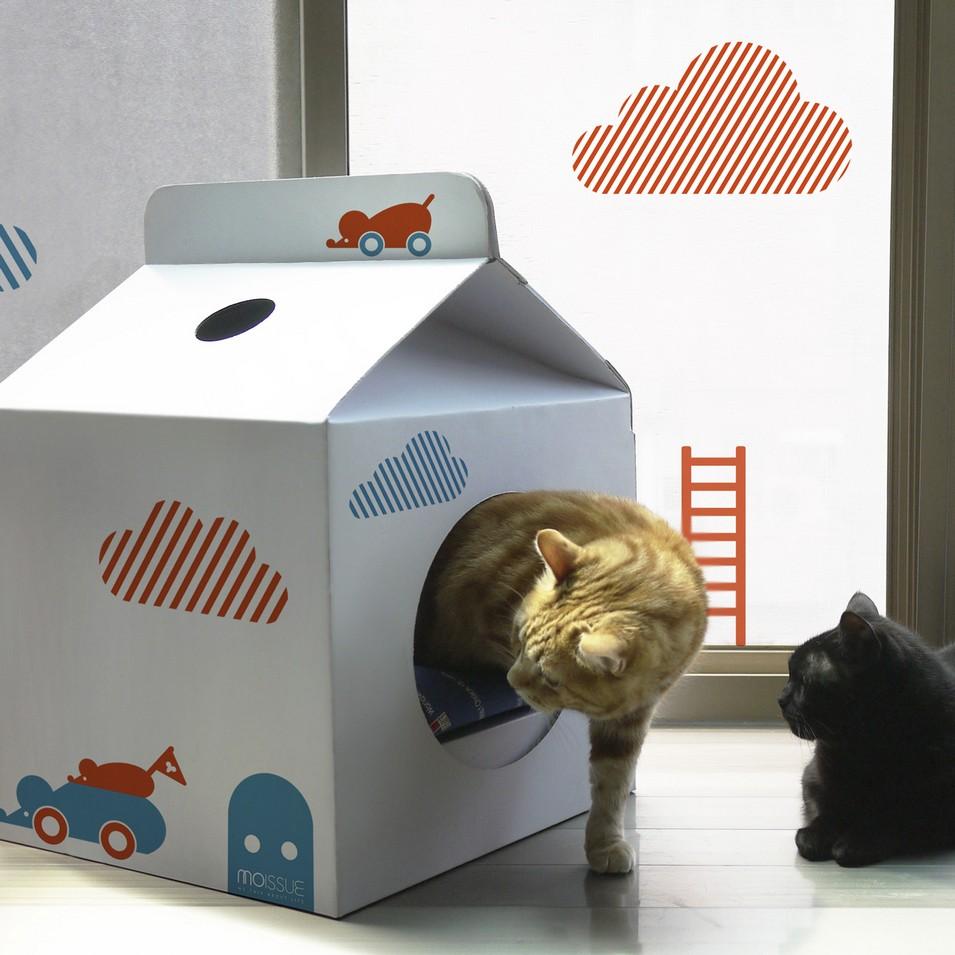 Moissue 原味飾品 Milkbox貓屋+裝飾壁紙(躲貓貓) | 設計 | Citiesocial