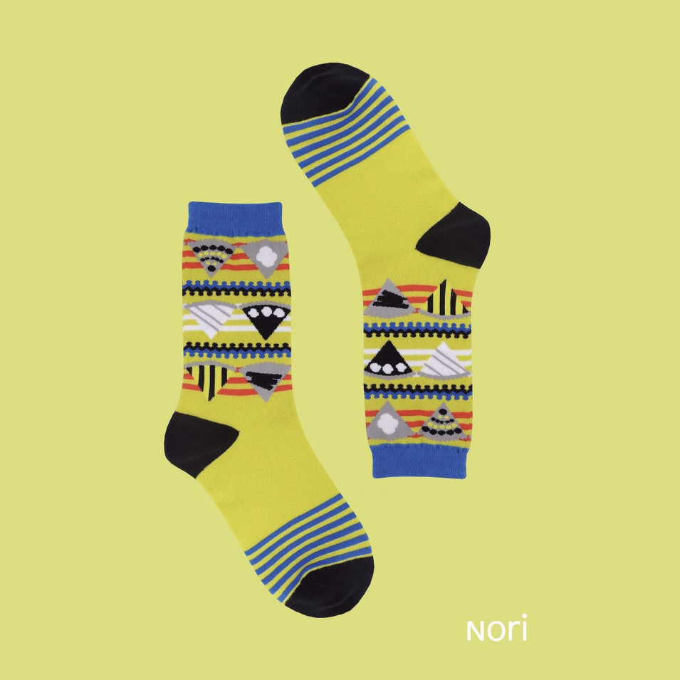 NORI SOCKS 2013 no.1 蘋果派款(綠色) | 設計 | Citiesocial