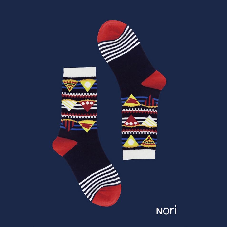 NORI SOCKS 2013 no.1 蘋果派款(藍色) | 設計 | Citiesocial