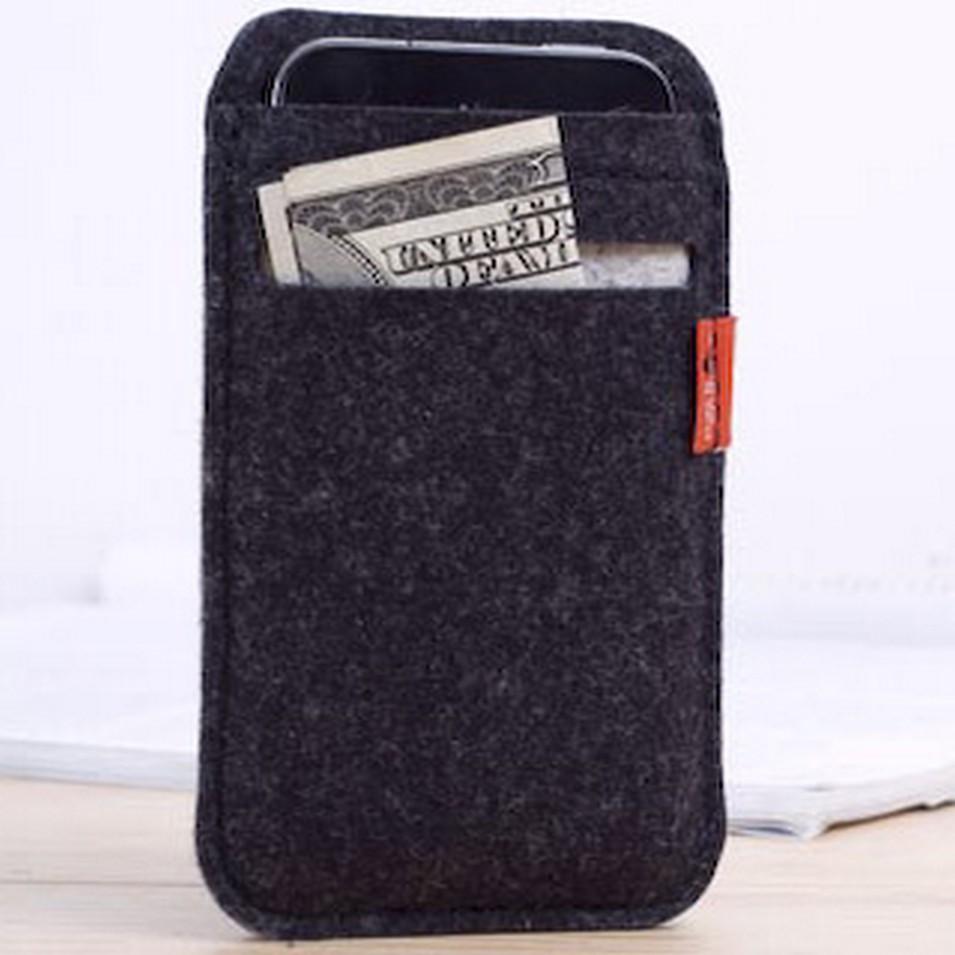 Pack&Smooch 德國時尚包 Pack & Smooch Soay 系列 iPhone 4/4S 手作羊毛氈保護套(碳黑色/石灰白色-卡夾) | 設計 | Citiesocial