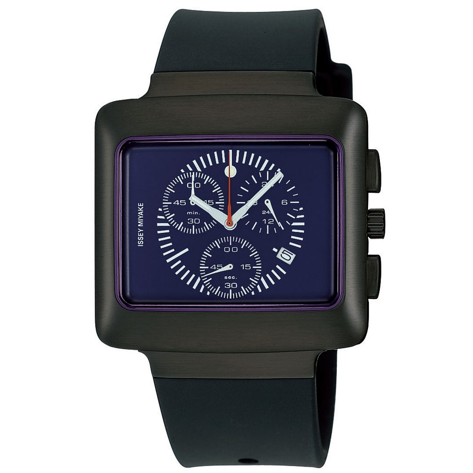 ISSEY MIYAKE 三宅一生錶款 ISSEY MIYAKE-VOKIO系列男仕腕錶-SII石英計時碼錶機芯 | 設計 | Citiesocial