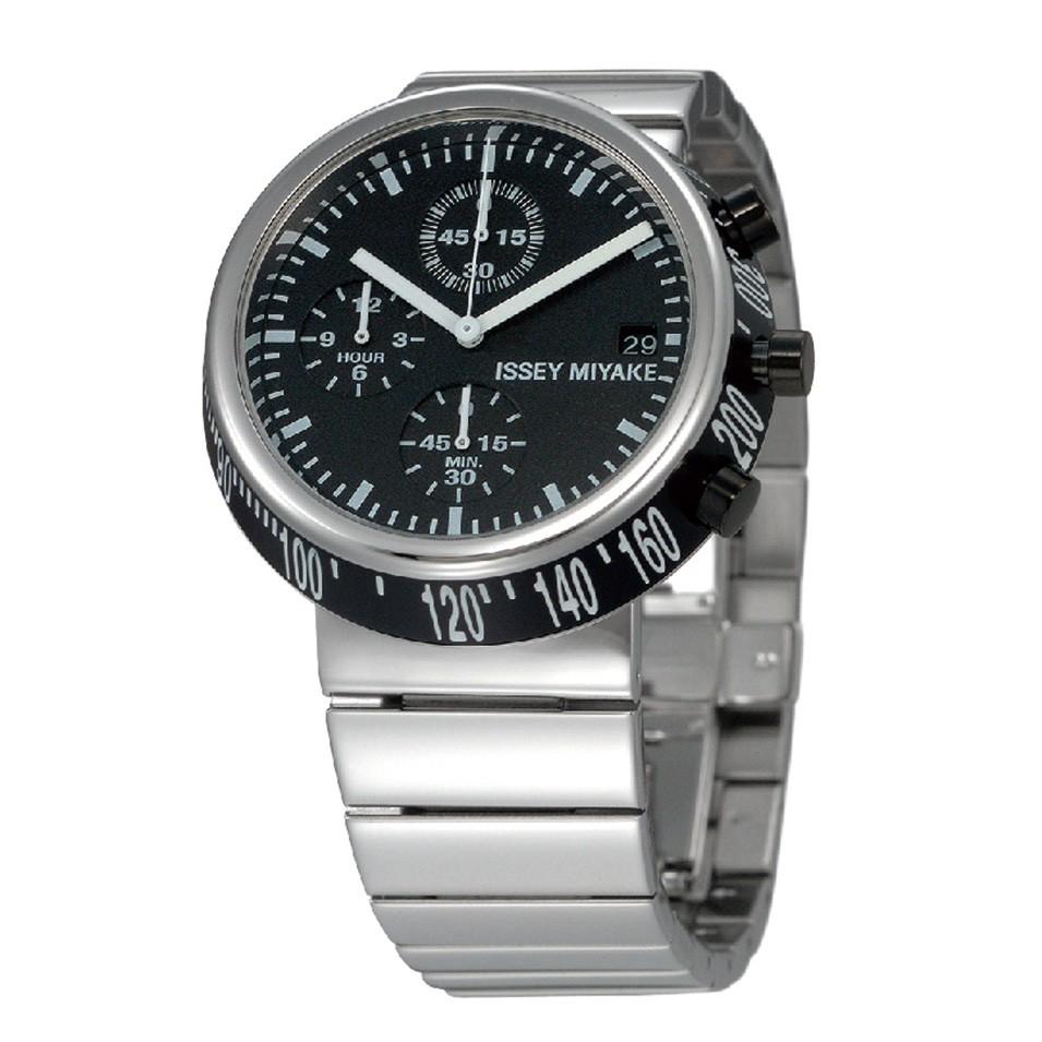 ISSEY MIYAKE 三宅一生錶款 ISSEY MIYAKE-Trapezoid系列男仕腕錶-黑面 | 設計 | Citiesocial