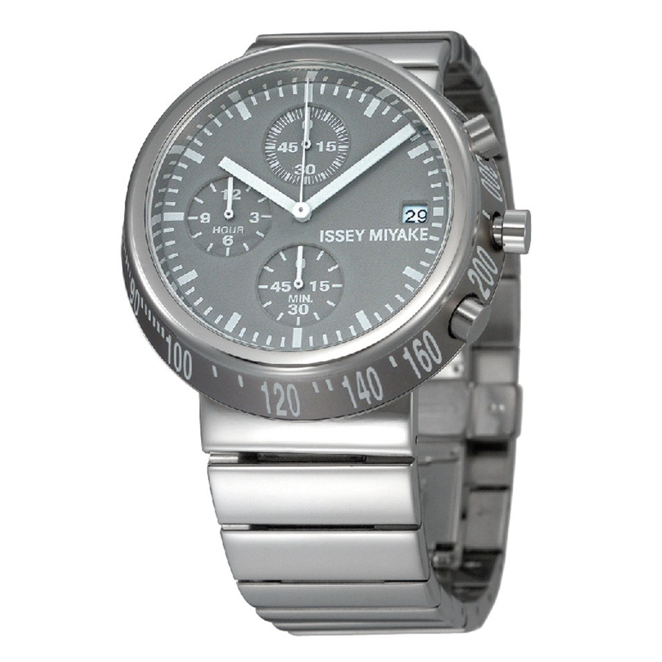 ISSEY MIYAKE 三宅一生錶款 ISSEY MIYAKE-Trapezoid系列男仕腕錶-灰面 | 設計 | Citiesocial