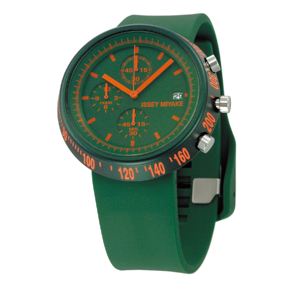 ISSEY MIYAKE 三宅一生錶款 ISSEY MIYAKE-梯形/AL系列男仕腕錶-綠 | 設計 | Citiesocial