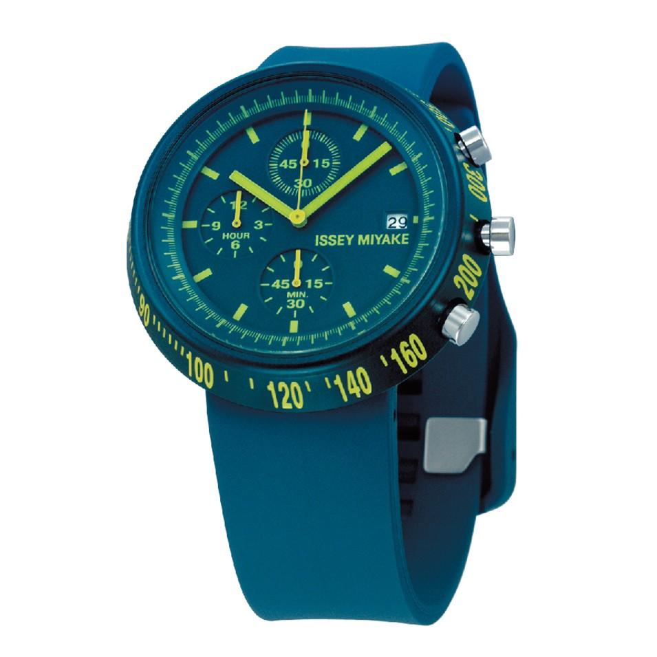 ISSEY MIYAKE 三宅一生錶款 ISSEY MIYAKE-梯形/AL系列男仕腕錶-藍 | 設計 | Citiesocial