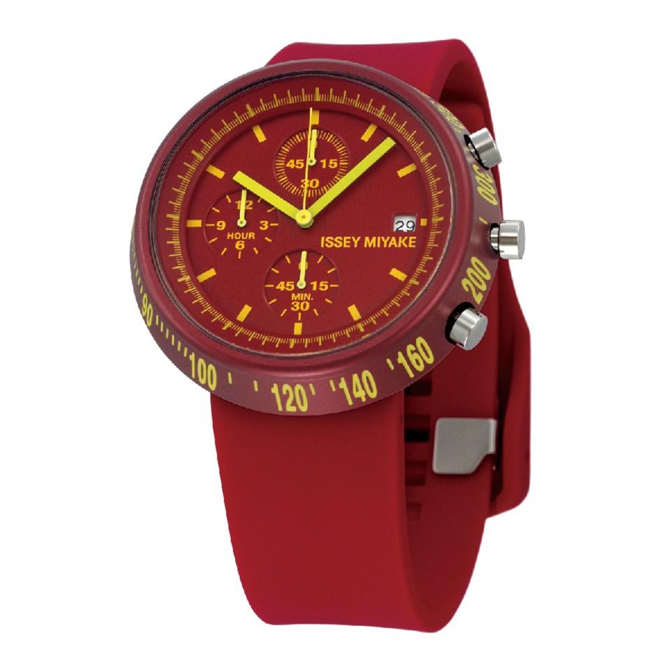 ISSEY MIYAKE 三宅一生錶款 ISSEY MIYAKE-梯形/AL系列男仕腕錶-紅 | 設計 | Citiesocial