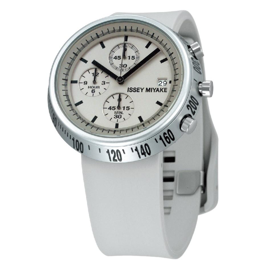 ISSEY MIYAKE 三宅一生錶款 ISSEY MIYAKE-梯形/AL系列男仕腕錶-白 | 設計 | Citiesocial